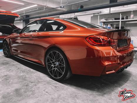 BMW M4. Полировка, керамика_9