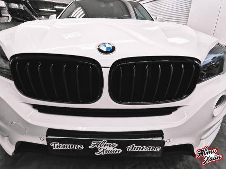 BMW X5.Керамика, оклейка фар_2