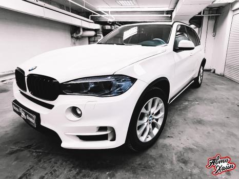 BMW X5.Керамика, оклейка фар_3