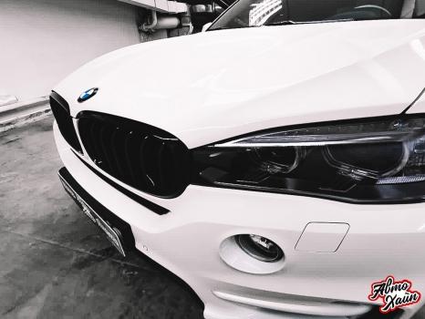 BMW X5.Керамика, оклейка фар_4