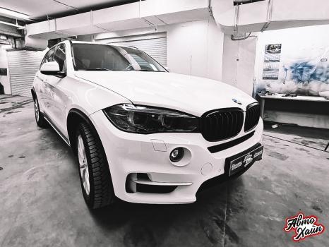 BMW X5.Керамика, оклейка фар_6