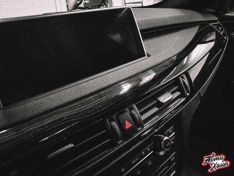 BMW X5. Аквапринт, перетяжка руля_4