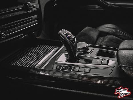 BMW X5. Аквапринт, перетяжка руля_5
