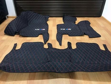 BMW X6 M50d. Пошив 3D ковриков_2