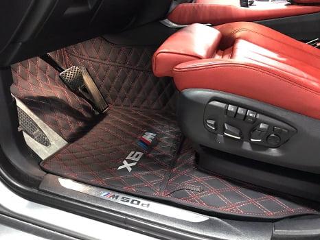 BMW X6 M50d. Пошив 3D ковриков_3