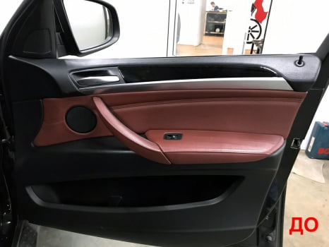 BMW X6 M. Перетяжка салона_1