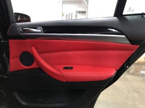BMW X6 M. Перетяжка салона_2