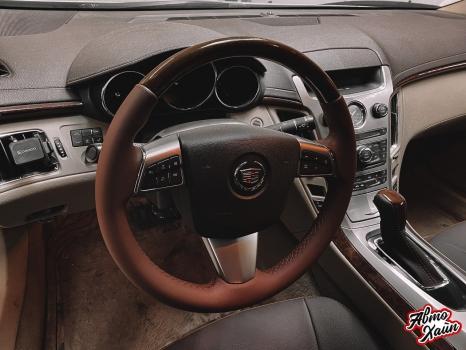 Cadillac CTS. Перетяжка салона, замена ремней безопасности_2