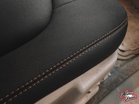 Cadillac CTS. Перетяжка салона, замена ремней безопасности_6