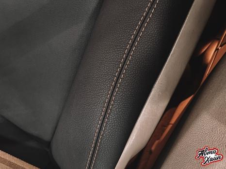 Cadillac CTS. Перетяжка салона, замена ремней безопасности_8