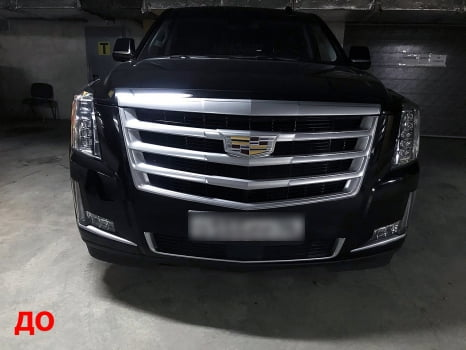 Cadillac Escalade. Антихром кузова_1
