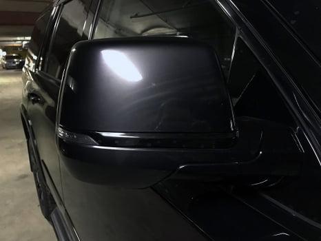 Cadillac Escalade. Антихром кузова_9
