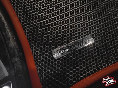 Cadillac SRX. Замена ремней безопасности_5