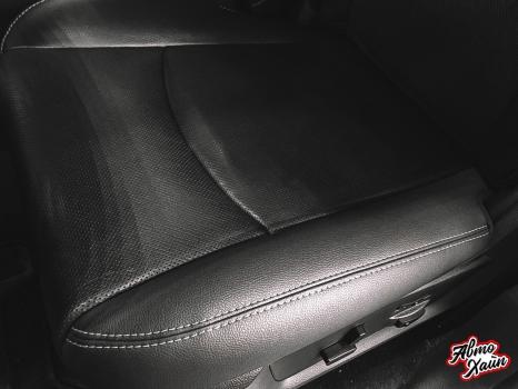 Dodge Ram. Ремонт сиденья, чистка отделки руля и и сидений_3