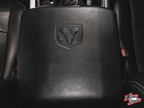 Dodge Ram. Ремонт сиденья, чистка отделки руля и и сидений_5