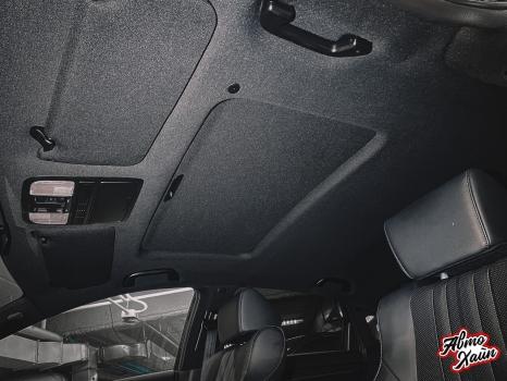 Honda Accord. Перетяжка потолка_3