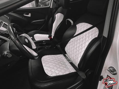 Hyundai ix35. Шумоизоляция, перетяжка сидений_5