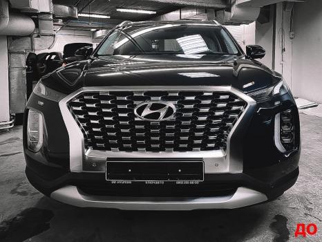Hyundai Palisade. Оклейка пленкой_2