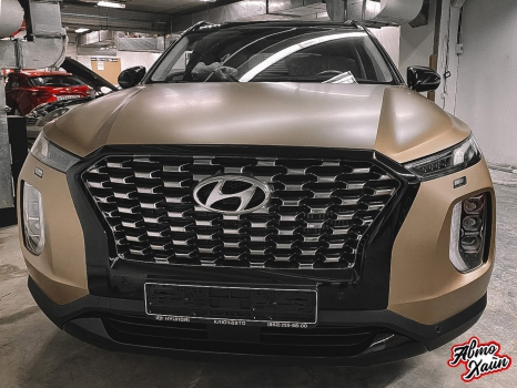 Hyundai Palisade. Оклейка пленкой_3