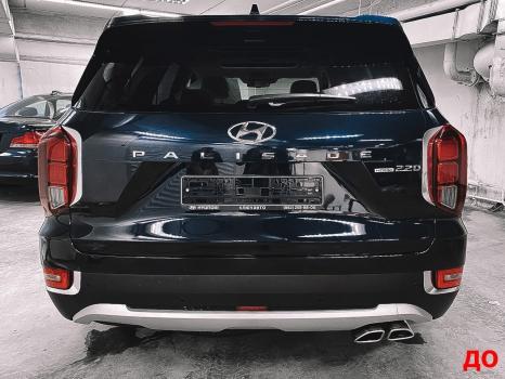 Hyundai Palisade. Оклейка пленкой_5