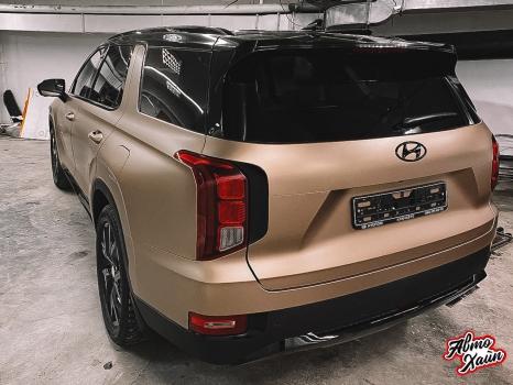 Hyundai Palisade. Оклейка пленкой_9