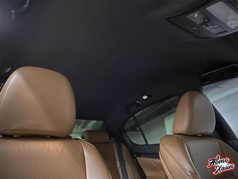 Lexus GS. Перетяжка потолка_2