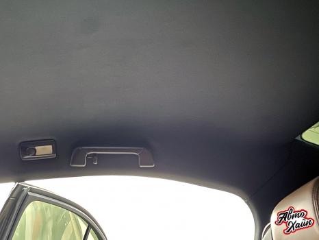 Lexus GS. Перетяжка потолка_5