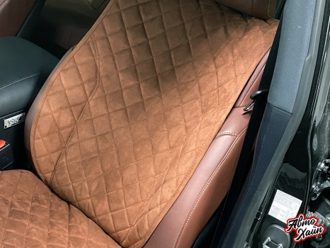 Lexus LX 570. Накидки из алькантары_3