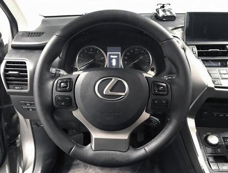 Lexus NX 200. Перетяжка руля_4