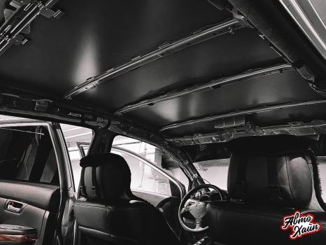Lexus RХ350. Перетяжка и шумоизоляция потолка_2