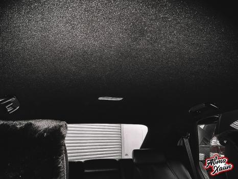 Lexus RХ350. Перетяжка и шумоизоляция потолка_6
