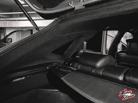 Lexus RХ350. Перетяжка и шумоизоляция потолка_9