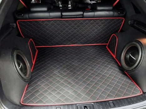 Lexus RX 400h . Пошив коврика_2