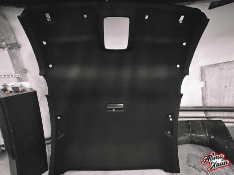 Mazda6. Перетяжка потолка_4