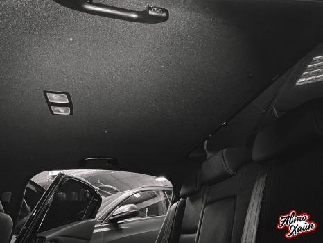 Mazda6. Перетяжка потолка_7