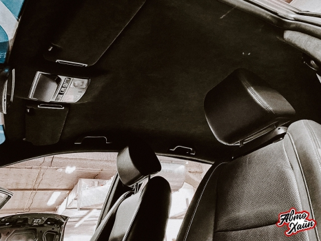 Mazda CX-9. Перетяжка потолока _2