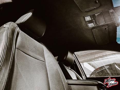 Mazda CX-9. Перетяжка потолока _4
