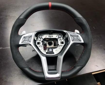 Mercedes-AMG C 63. Перетяжка руля_2