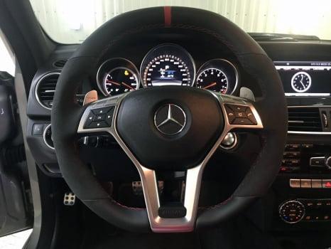 Mercedes-AMG C 63. Перетяжка руля_4