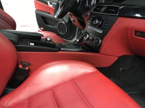 Mercedes-AMG C 63 перетяжка центральной консоли_7