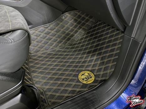Mercedes-AMG GLE 63. Тиснение на подголовниках_2