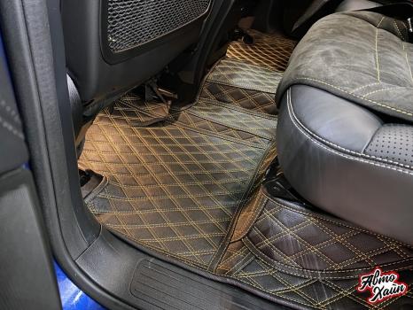 Mercedes-AMG GLE 63. Тиснение на подголовниках_4