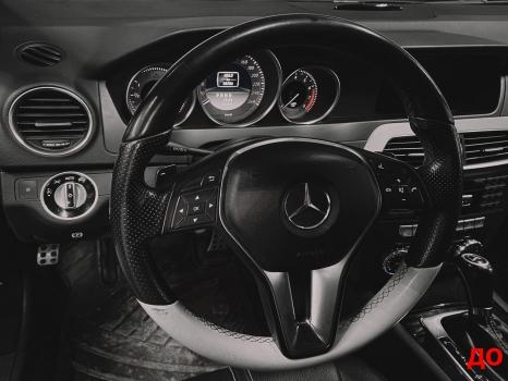 Mercedes-Benz C-класс. Реставрация кожи_5