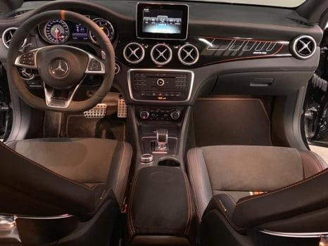 Mercedes-Benz CLA AMG подлокотник_2