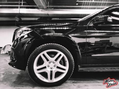 Mercedes-Benz GL. Полировка и керамика_2