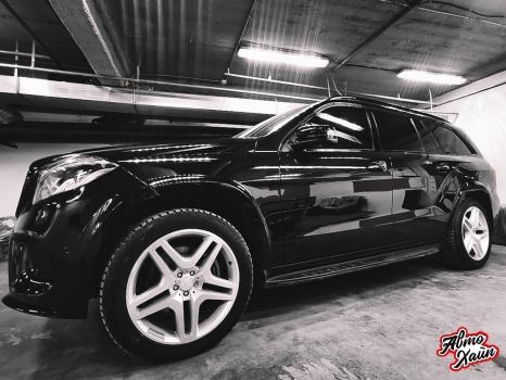 Mercedes-Benz GL. Полировка и керамика_3