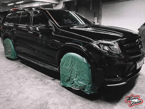 Mercedes-Benz GL. Полировка и керамика_4