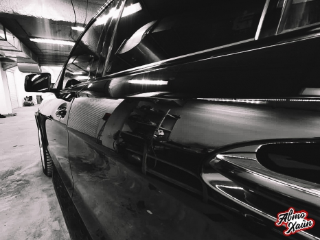 Mercedes-Benz GL. Полировка и керамика_7