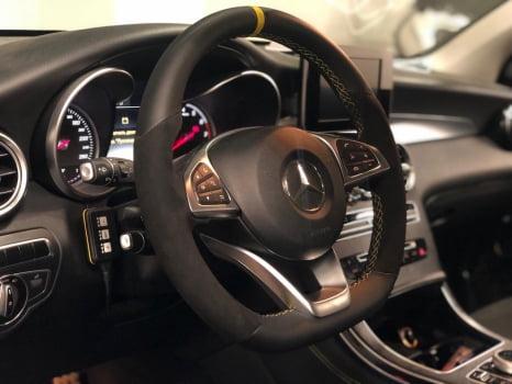 Mercedes-Benz GLC. Перетяжка  салона_4