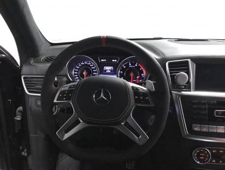 Mercedes-Benz ML AMG. Перетяжка руля с клаксоном_1